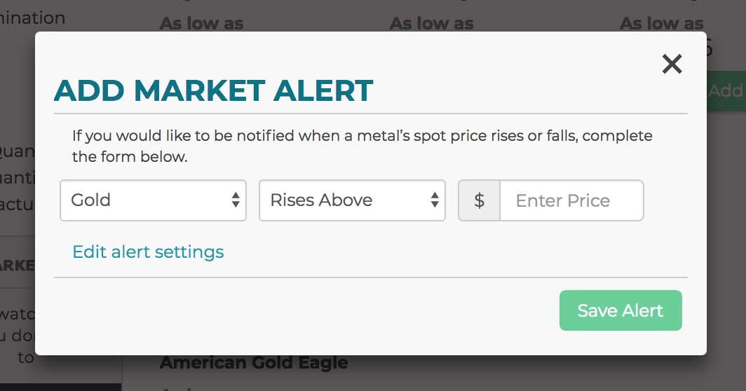 Market Alerts