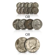 $1 Face Value 90% Junk Silver Coins Circulated