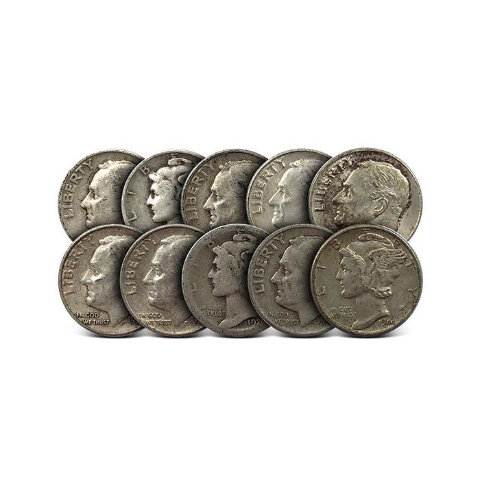 MAKE OFFER $5.00 Face Silver Franklin Walking Liberty Half Dollars Halves Junk