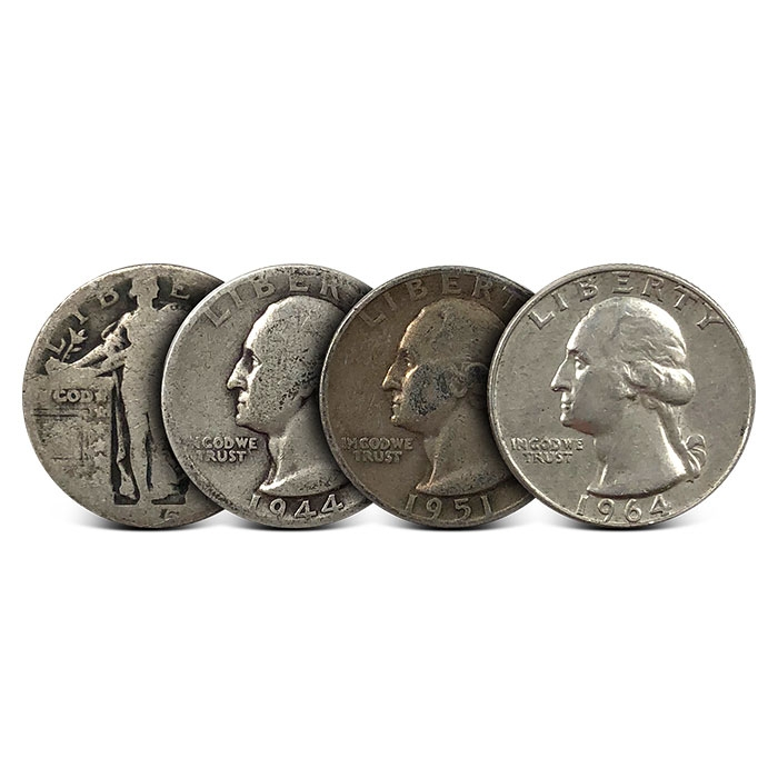 Lot of 10 Random Date Mercury Silver Dimes $1.00 Face 90/% Silver FREE SHIPPING!