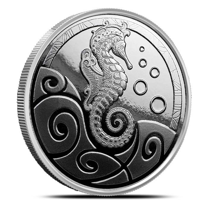 2018 Samoa Silver Seahorse 1 oz 5 Coin Pack