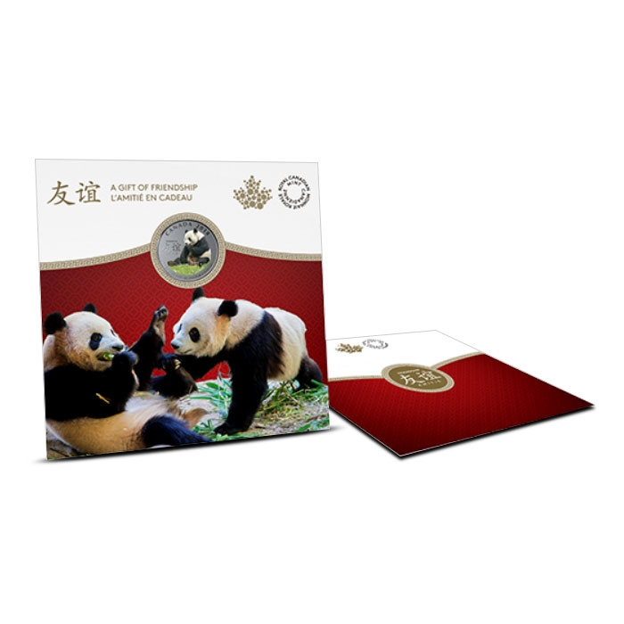 2018 Canadian 8 gram Silver Coin | Peaceful Panda