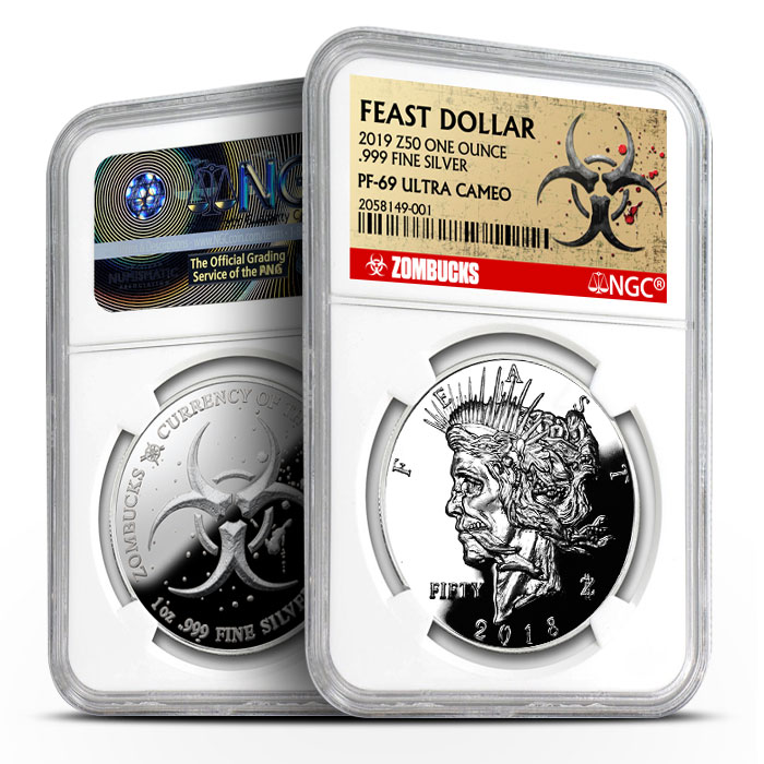 Zombucks Feast Dollar | NGC PF69