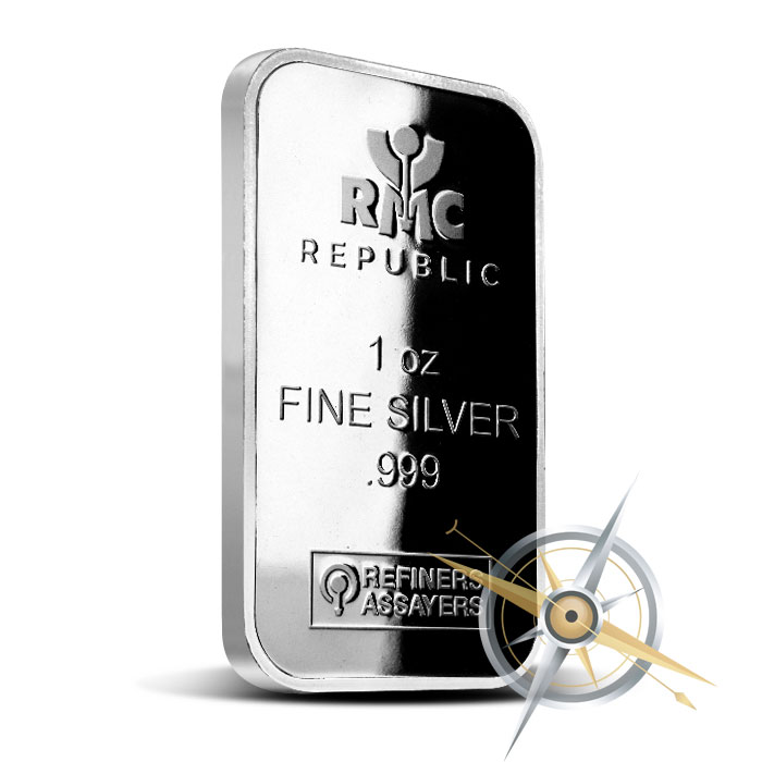1 oz Silver Bar | RMC