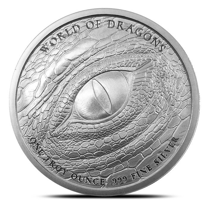 The Norse 1 oz Silver Round Back