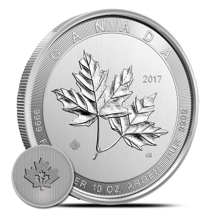 10 oz Silver Maple Coin