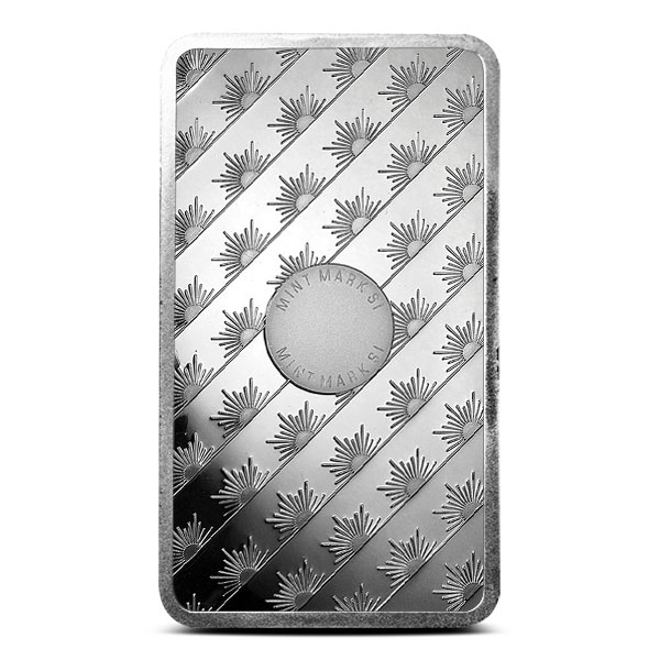 Ten ounce Sunshine Silver Bar