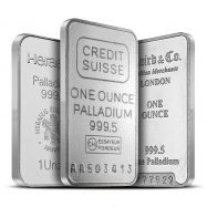 1 oz .9995 Fine Palladium Bar | Random Design