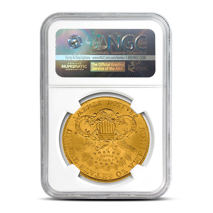 $20 Liberty Gold Double Eagle | NGC MS63 Reverse