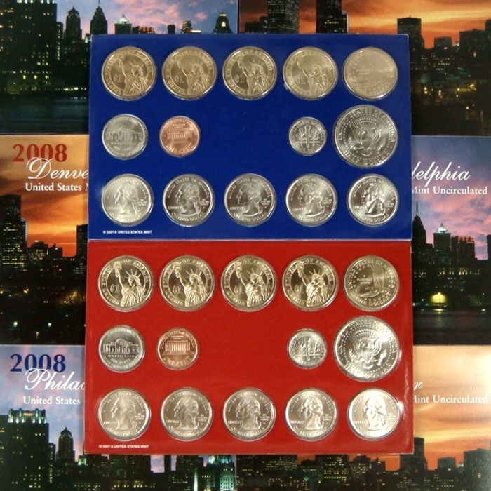 2008 US Mint Set Coins