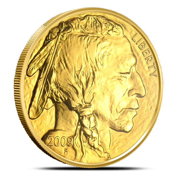2009 1 oz Gold Buffalo