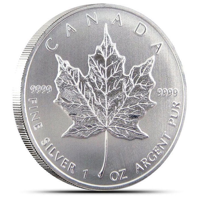 2013 Canadian Silver Maple Leaf Reverse