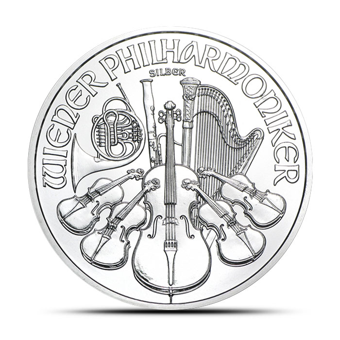 2014 One oz Austrian Silver Philharmonic
