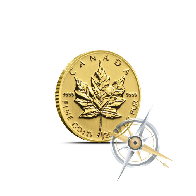 2014 1/20 oz Canadian Gold Maple