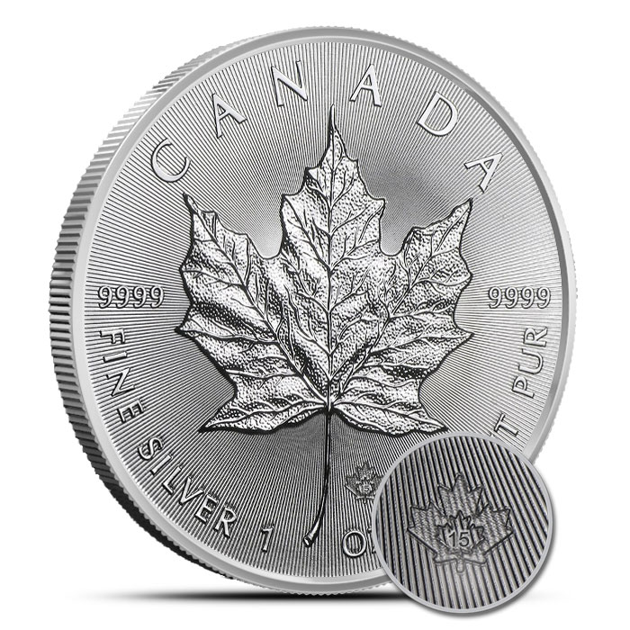 2015 1 oz Canadian Silver Maple