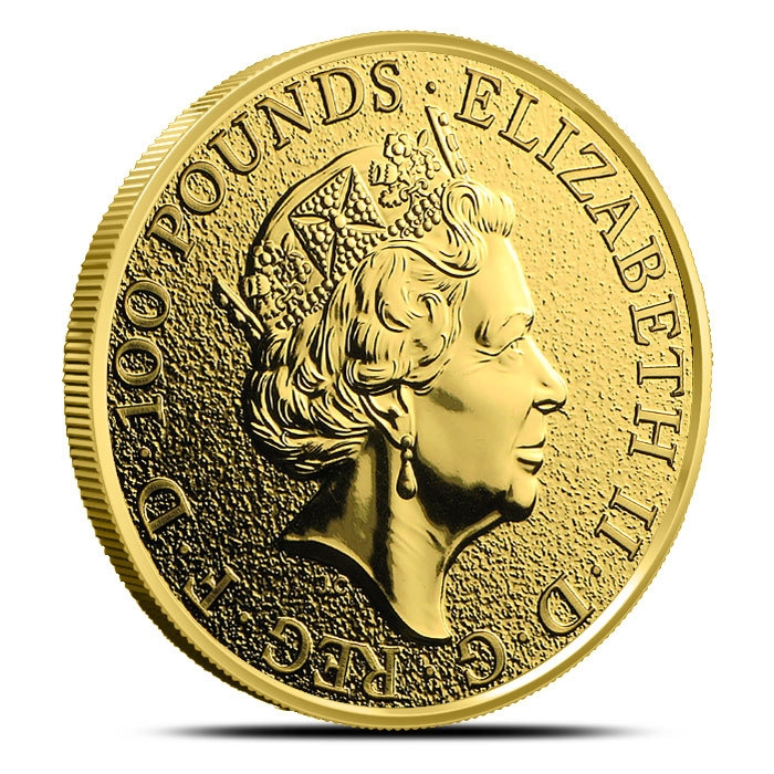 2016 1 oz British Gold Queen