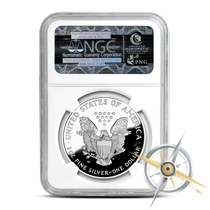 Early Release 2016 Proof Silver Eagle | PF69 NGC