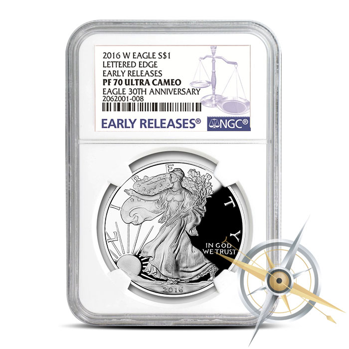 PF70 NGC 2016 Proof American Silver Eagle