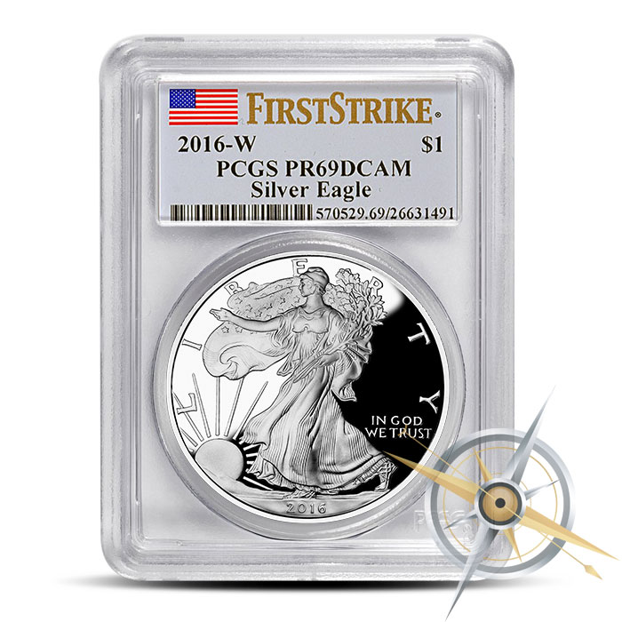 PF69 PCGS 2016 Proof American Silver Eagle