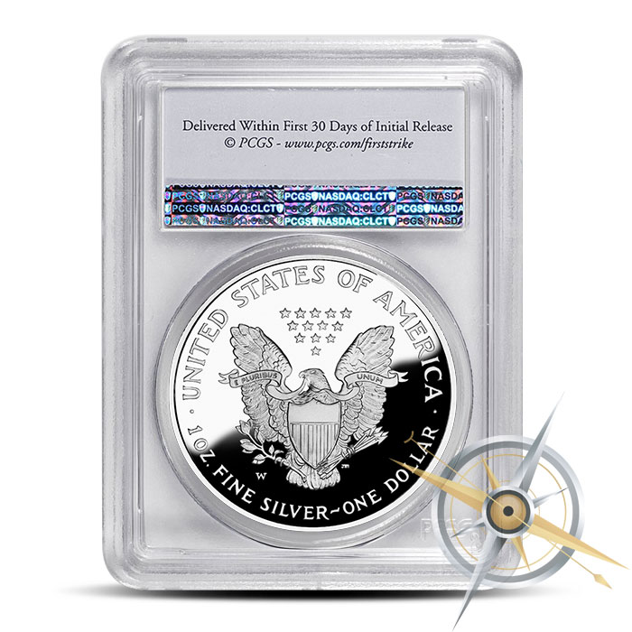 First Strike 2016 Proof Silver Eagle | PF70 PCGS