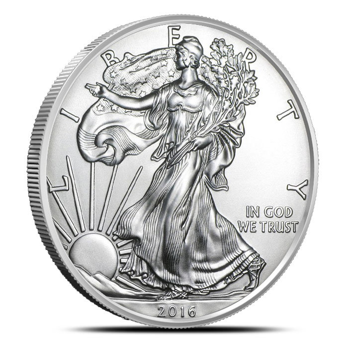 2016 1 oz American Silver Eagle | 500 Count