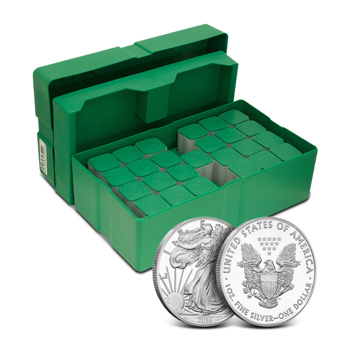 2016 American Silver Eagle Monster Box