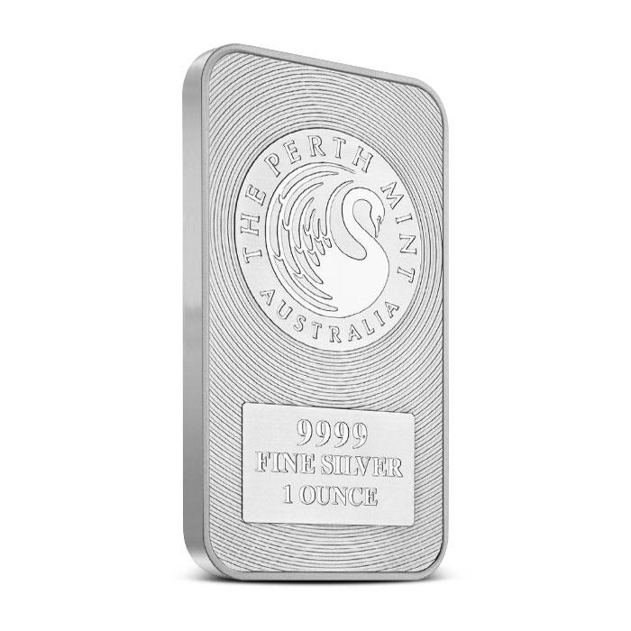 Kangaroo 1oz Minted Silver Bar The Perth Mint
