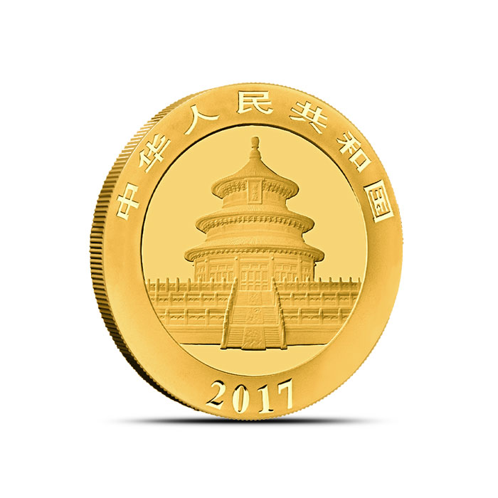 Chinese 8 gram Gold Panda Coin