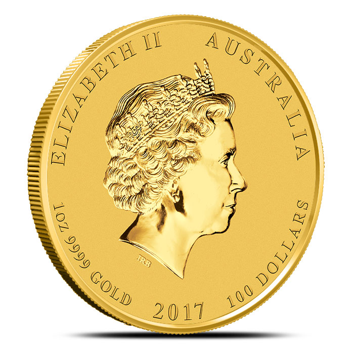 Year of the Rooster 1 oz Gold Coin | Perth Mint