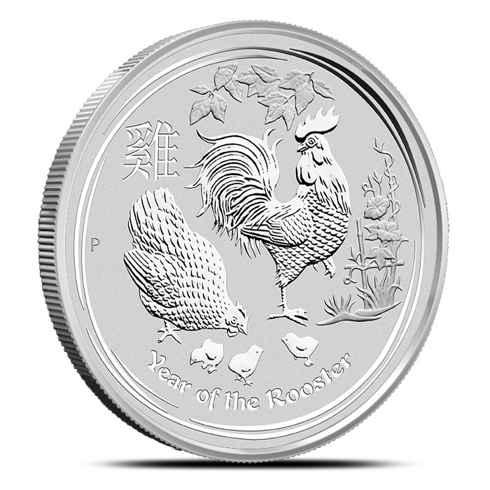 Year of the Rooster 10 oz Silver Coin | Perth Mint