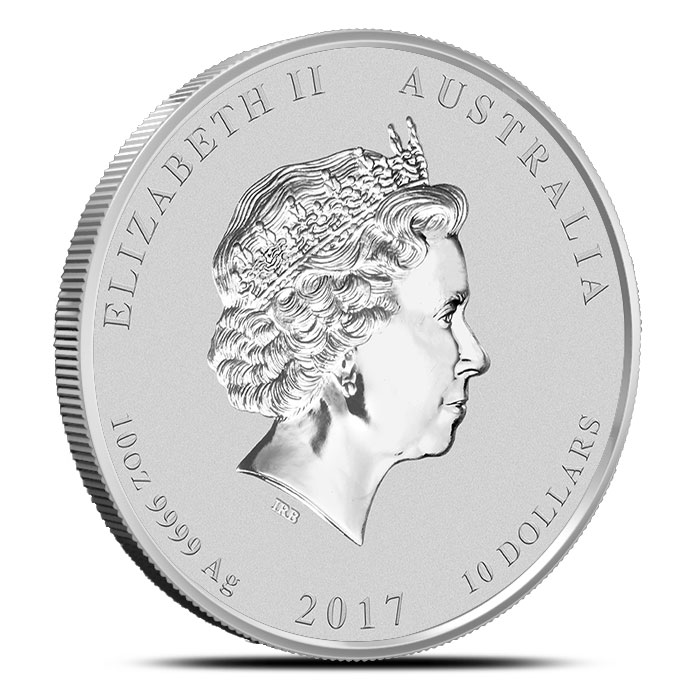 Perth Mint 2017 qo oz Silver Rooster Coin