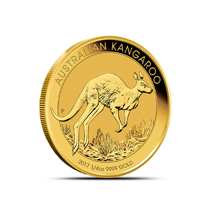 2017 1/4 oz Gold Kangaroo