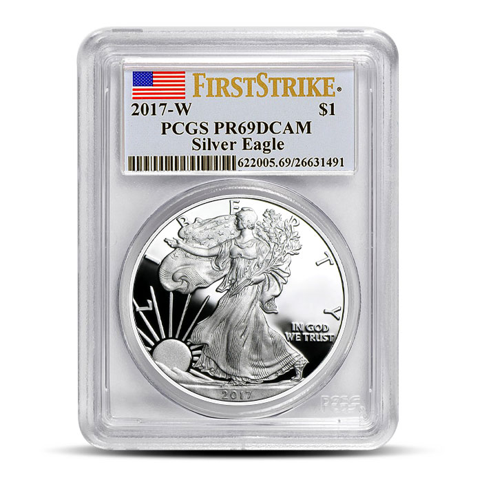 2017 Proof Silver Eagle | First Strike