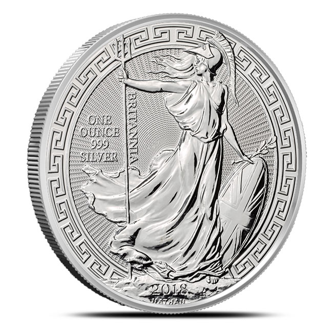 Oriental Border 2018 Great Britain 1 oz Silver Britannia