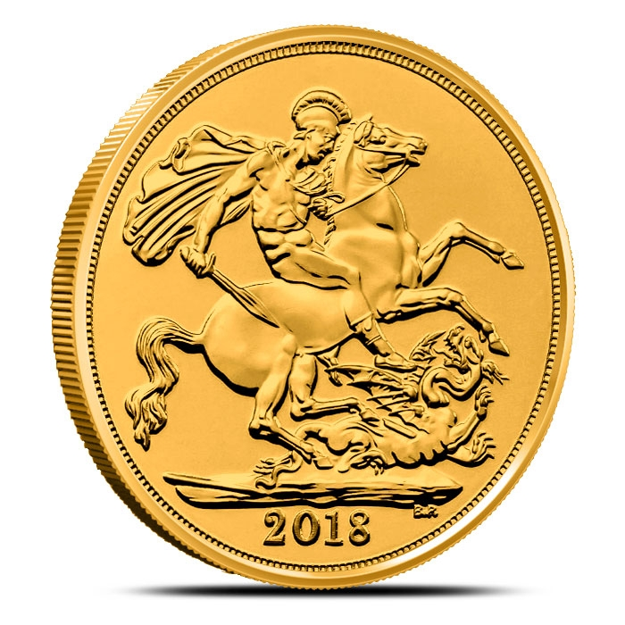 2018 Gold Sovereign