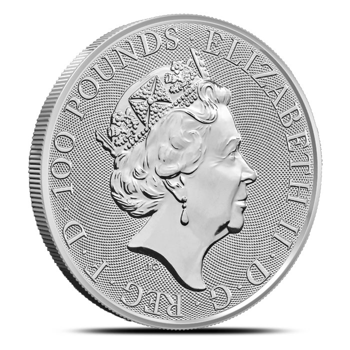 2019 British 1 oz Platinum Britannia