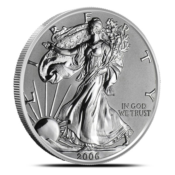 2006 American Silver Eagle | Burnished