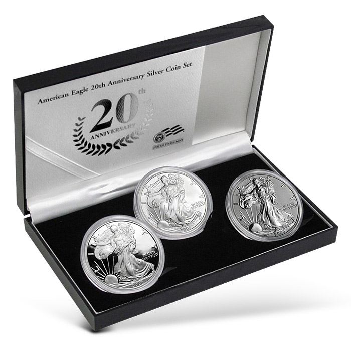 2006 Silver Eagle | 3 coin set