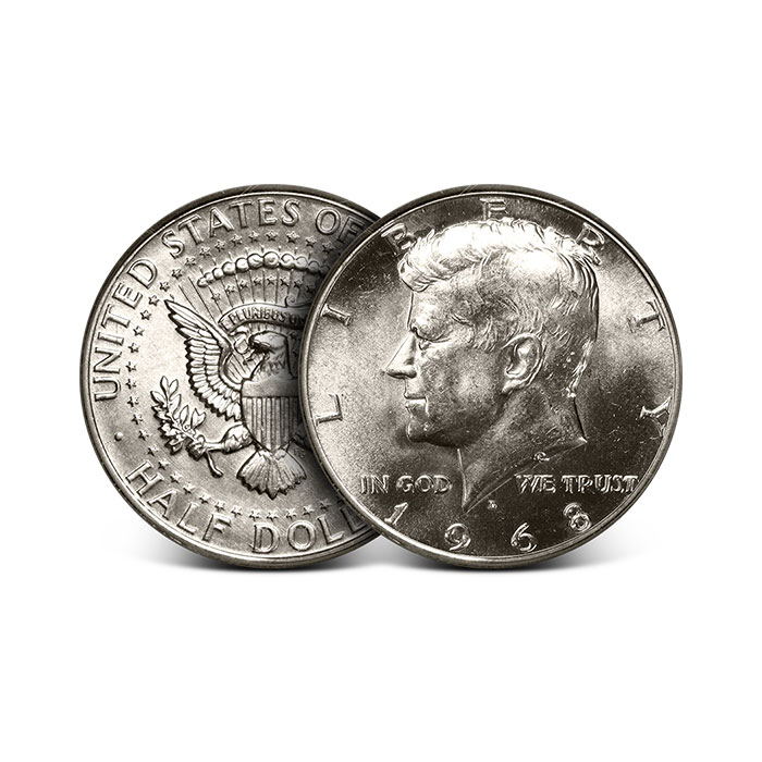 40% Silver US Kennedy Halves | $1 Face Value | .295 Troy Ounce
