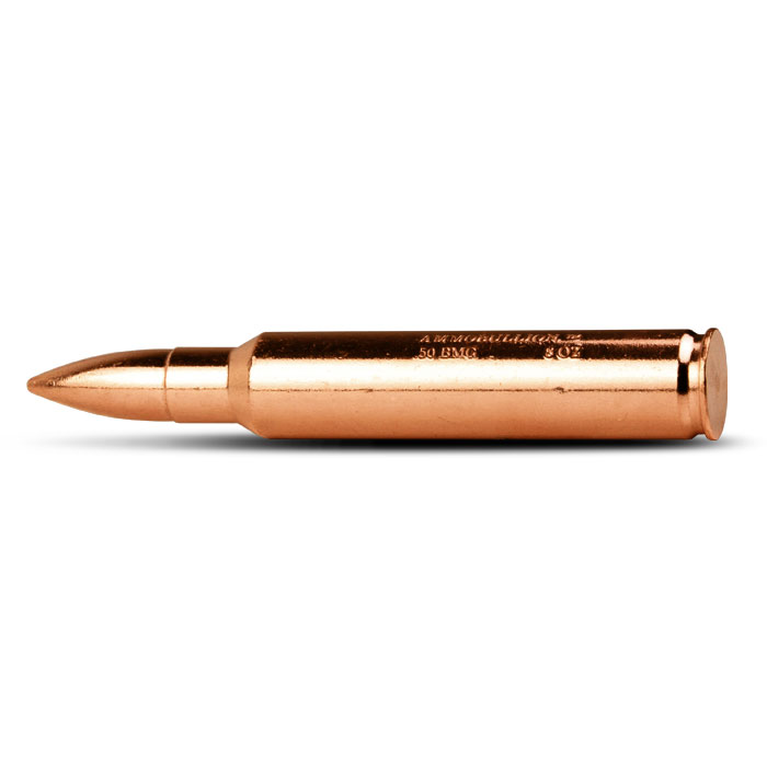 8 oz Copper Bullet | BMG Side View
