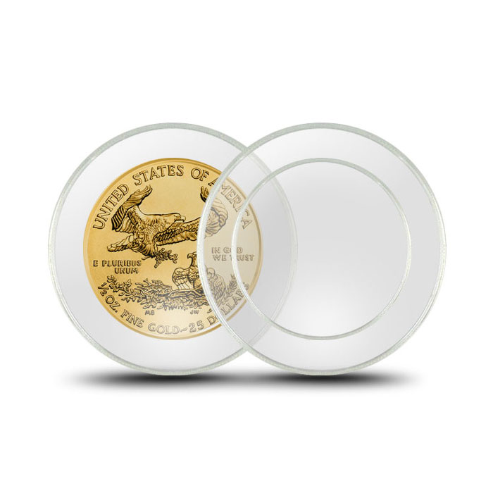 Air-Tite Plastic Coin Holder | 1/2 oz Gold Eagle 27 mm