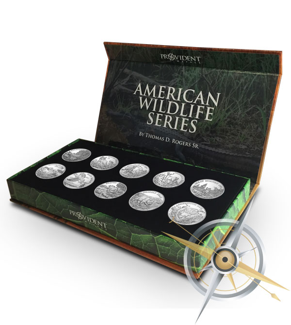 American Wildlife Coins | Complete Silver Set