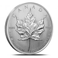 Canadian 1 oz Palladium Maple Leaf