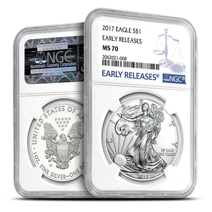 American Silver Eagle Early Release