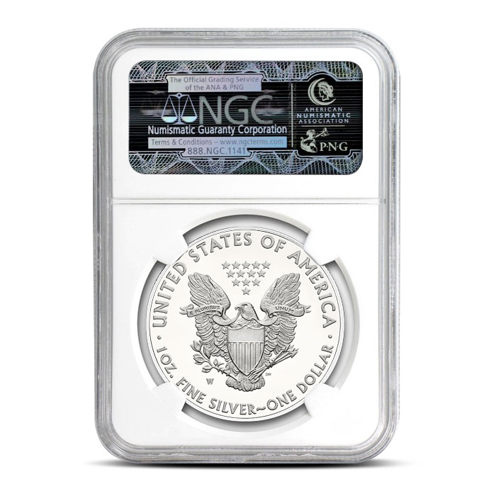 American Silver Eagle NGC MS70