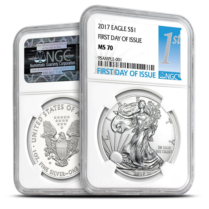 American Silver Eagle First Day of Issue