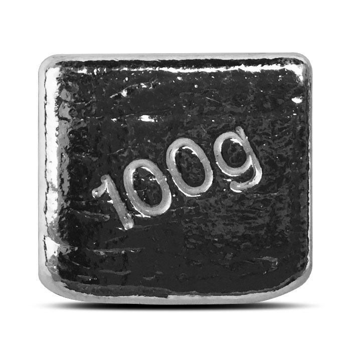 Yeager 100 gram Silver Cube