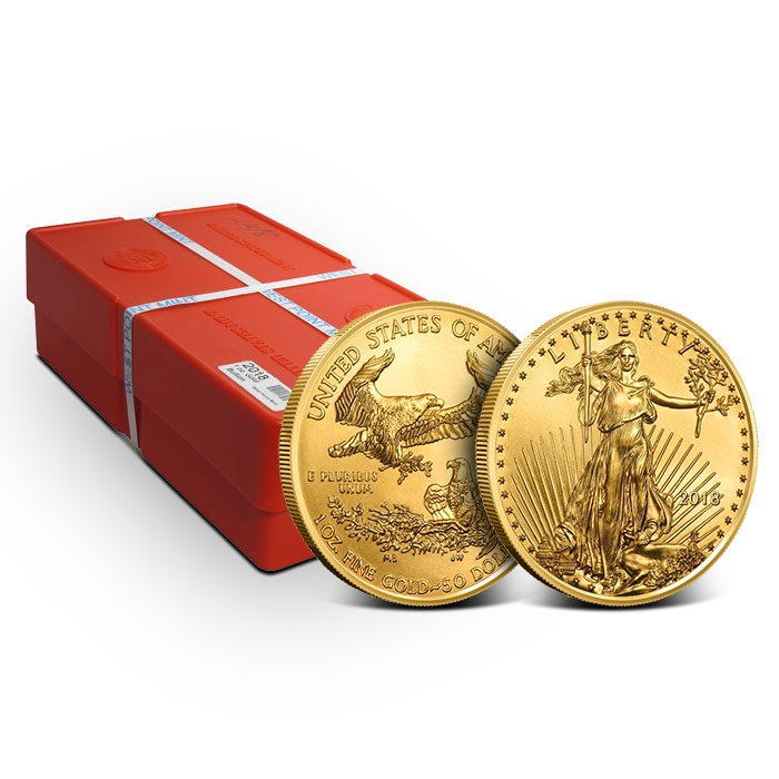 American Gold Eagle Monster Box