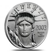 1 oz US American Platinum Eagle Coin | Random Year