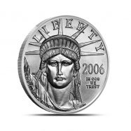 1/2 oz US American Platinum Eagle Coin | Random Year